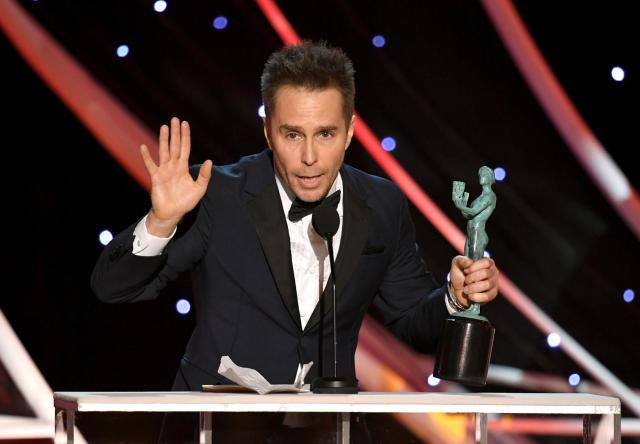 Sam Rockwell recipient SAG Awards 4Chion Lifestyle a