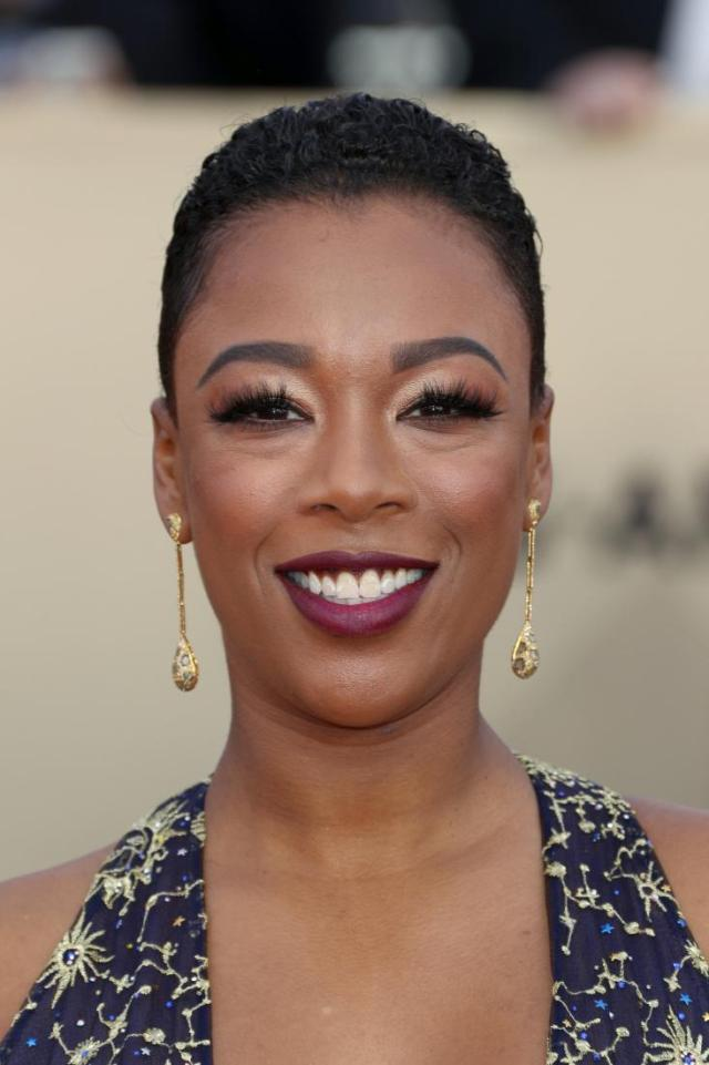 Samira Wiley red carpet SAG Awards 4Chion Lifestyle a