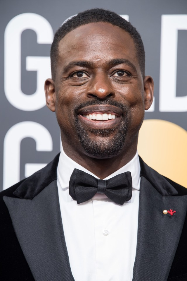 Sterling K. Brown arrives at the 75th Annual Golden Globes Awards 4chion lifestyle