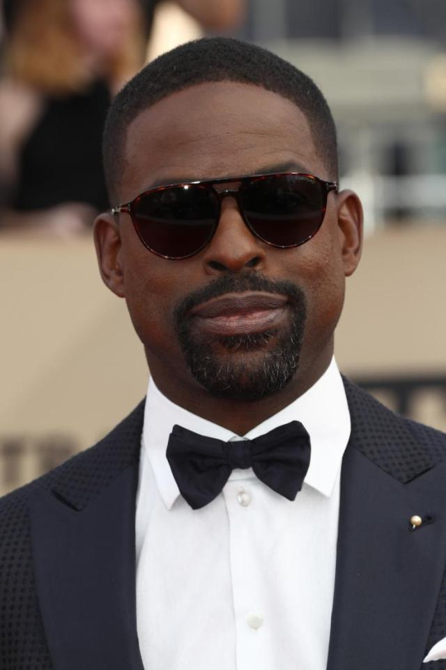 Sterling K. Brown red carpet SAG Awards 4Chion Lifestyle