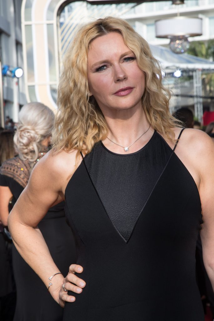 Tonya Harding attends the 75th Annual Golden Globes Awards 4chion lifestyle
