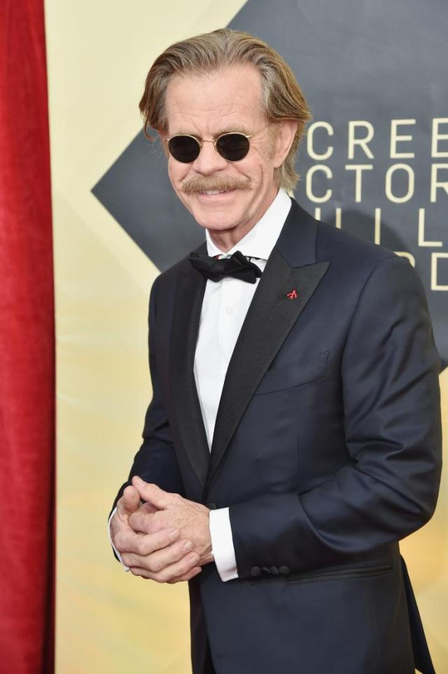 William H. Macy red carpet SAG Awards 4Chion Lifestyle