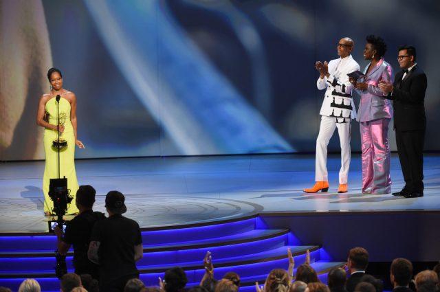 RuPaul Charles, Leslie Jones, Regina King Emmys 4Chion Lifestyle