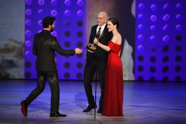 Larry David, Rachel Brosnahan, Darren Criss Emmys 4Chion Lifestyle