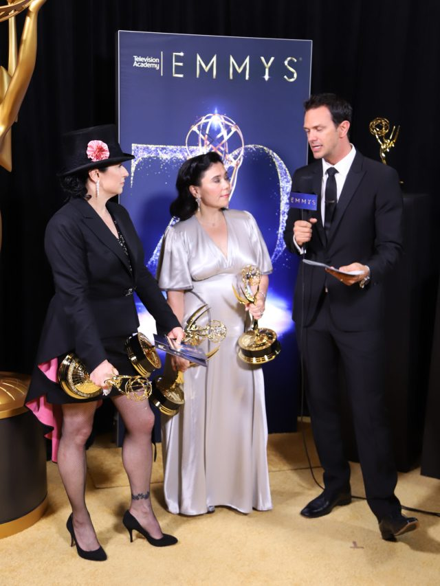 Amy Sherman-Palladino, Alex Borstein Emmys 2018 4chion lifestyle
