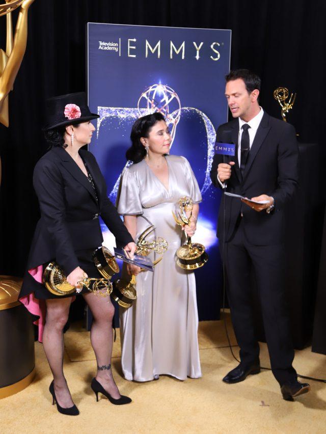 Amy Sherman-Palladino, Alex Borstein Emmys 2018 4chion lifestyle