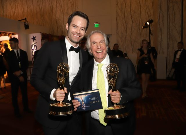 Bill Hader, Henry Winkler Emmys 2018 4chion lifestyle