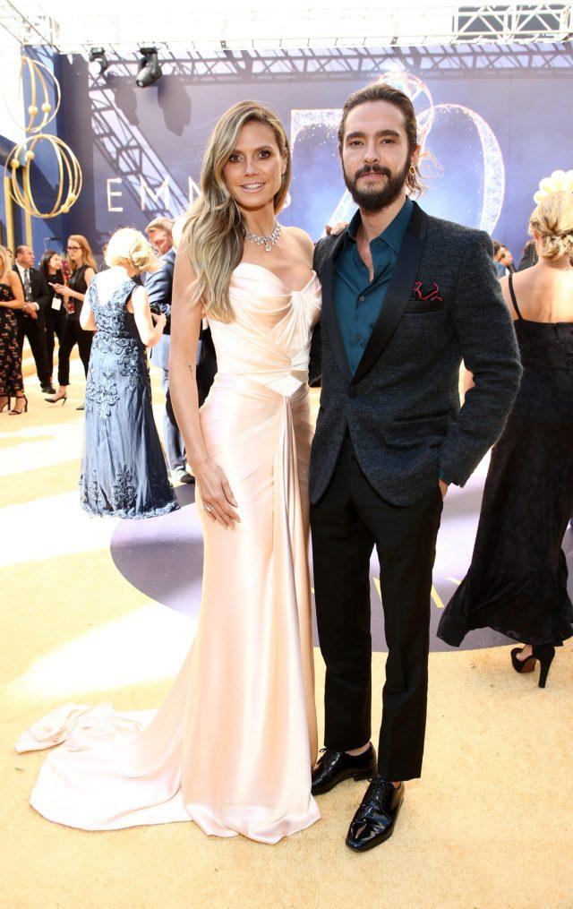 Heidi Klum, Tom Kaulitz Emmys 4Chion LIfestyle