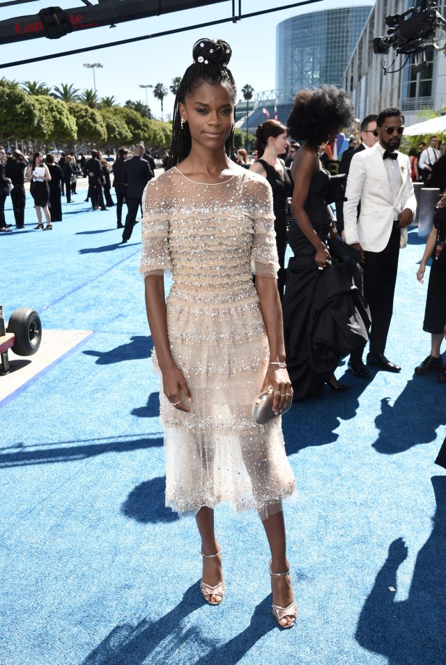 Letitia Wright Emmys 4Chion Lifestyle