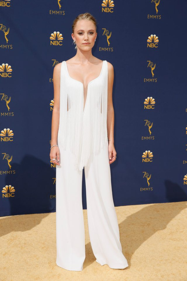 Maika Monroe Emmys 4Chion Lifestyle
