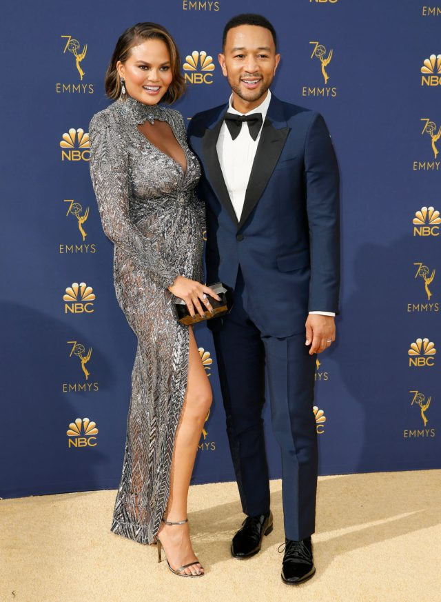John Legend, Chrissy Teigen Emmys 4Chion Lifestyle