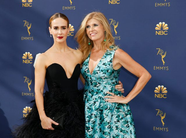 Connie Britton, Sarah Paulson Emmys 4Chion Lifestyle