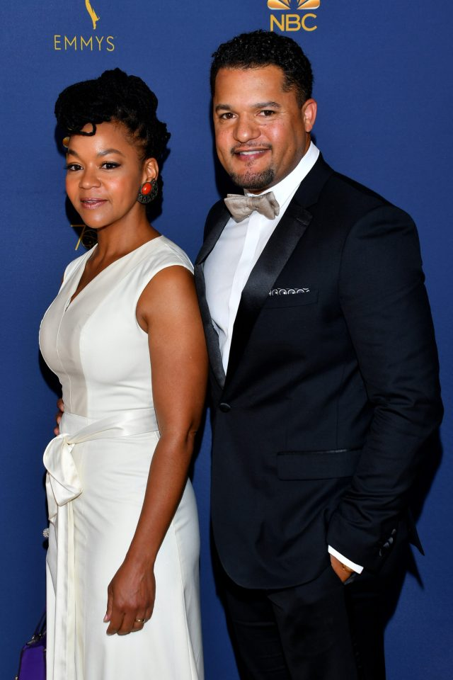 Crystal Dickinson, Brandon Dirden Emmys 4Chion Lifestyle
