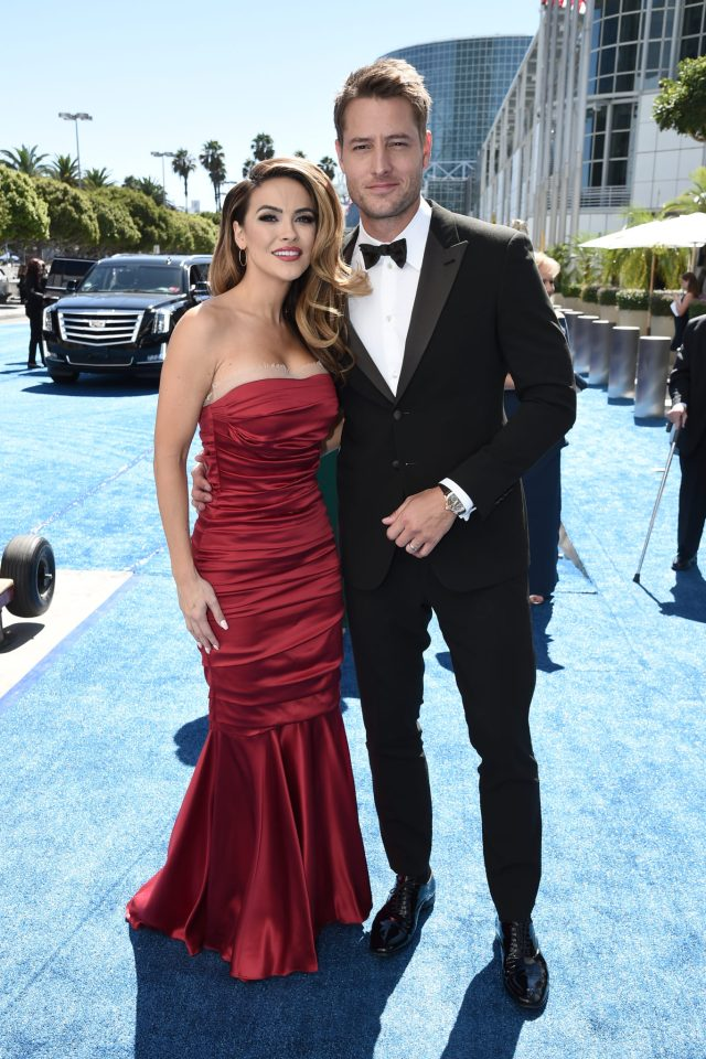 Chrishell Stause, Justin Hartley Emmys 4Chion Lifestyle