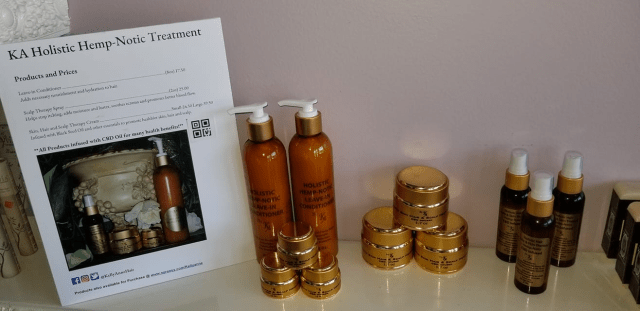 KA Holistic 4Chion Lifestyle CBD Hair Care b