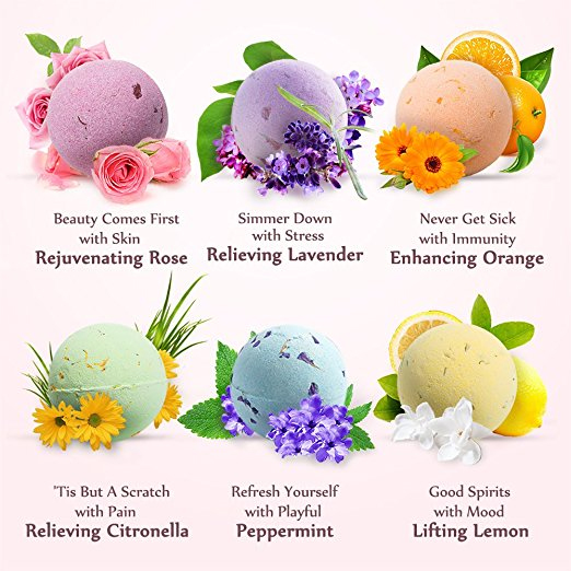 Anjou Bath Bombs Gift Set amazon ads 4chion lifestyle