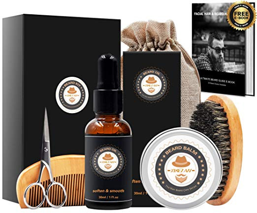 Mens gifts for Men Beard Care Grooming & Trimming Kit 4chion lfiestyle ad holiday amazon