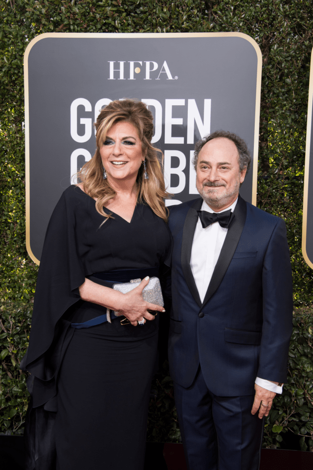 Caroline Aaron and Kevin Pollack Golden Globes 4chion Lifestyle Party