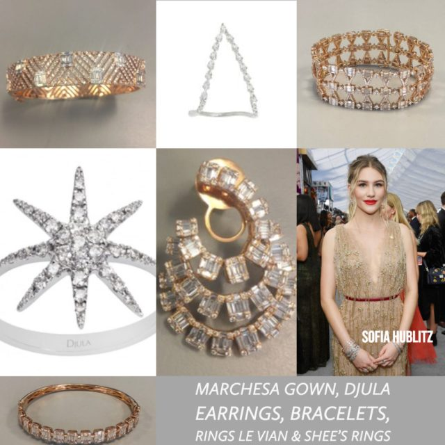 Sofia Hublitz celebrity styling SAG Awards 4chion lifestyle