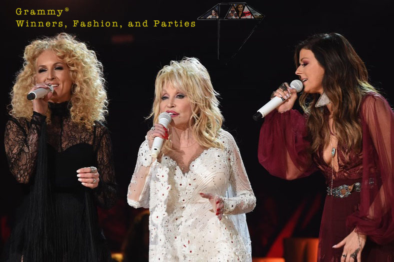 Dolly Parton Karen Fairchild Grammy Fashion 4chion lifestyle