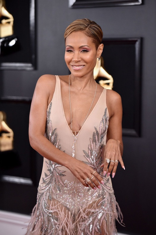 Jada Pinkett Smith Grammy Red Carpet Fashion 4chion lifestyle