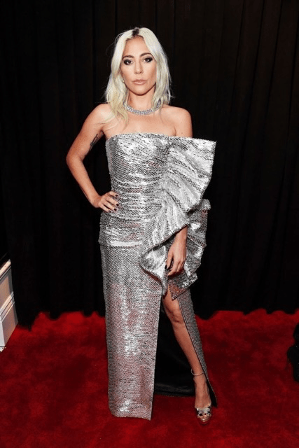 Lady Gaga Grammy Red Carpet Fashion 4chion lifestyle