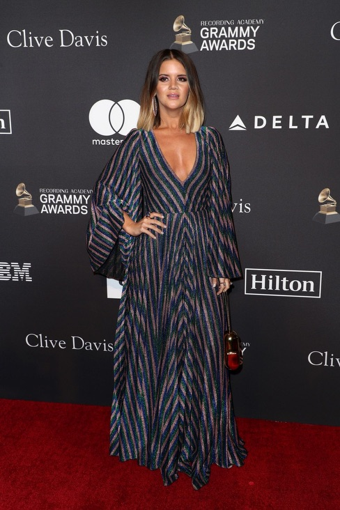 Maren Morris Clive Davis Grammy Party 4chion Lifestyle