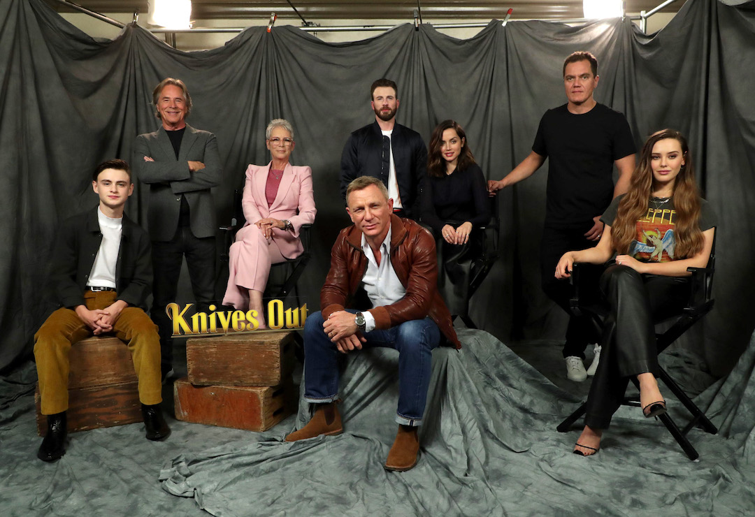 Jaeden Martell, Don Johnson, Jamie Lee Curtis, Daniel Craig, Chris Evans, Ana de Armas, Michael Shannon and Katherine Langford
