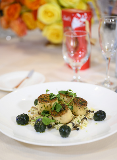 """scallops"""" made from king oyster mushrooms 4chion lifestyle golden globes 4chion lifestyle"""