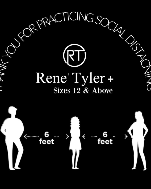 Social Distancing Rene' Tyler Shopping