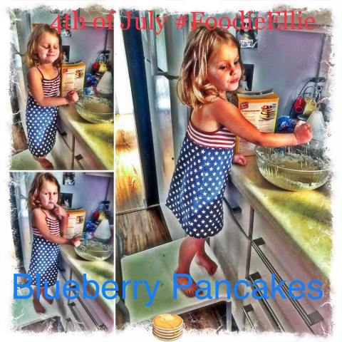Foodie Ellie Blueberry Pancakes 4chion Lifestyle
