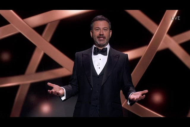 Host Jimmy Kimmel Emmys® 2020 4chion Lifestyle Panemmies