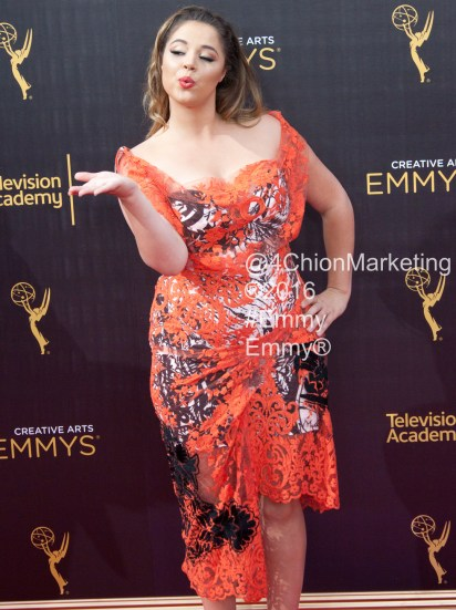 Kether Donohue Emmys Red Carpet 4Chion Marketing