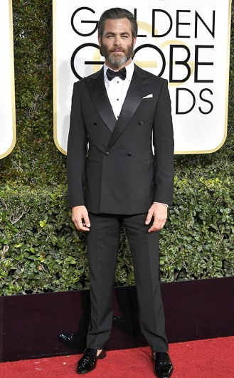 Year of the Beard Golden Globes