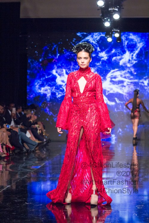 Elie Madi Art Heart Fashion SS17