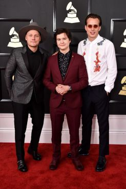 Lukas Graham red carpet 4Chion Lifestyle