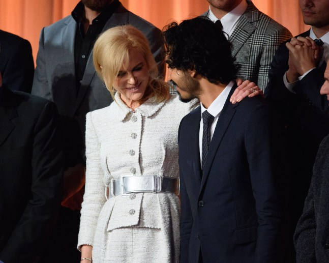Nicole Kidman and Dev Patel at the Oscar® Nominees Luncheon in Beverly Hills Monday, February 6, 2017. The 89th Oscars® will air on Sunday, February 26, live on ABC.