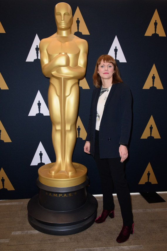 """Director of the Oscar® nominated foreign film """"Toni Erdmann"""", Maren Ade prior to the Academy of Motion Picture Arts and Sciences' Oscar Week: Foreign Language Films event on Saturday, February 25, 2017 at the Samuel Goldwyn Theater in Beverly Hills. The Oscars® will be presented on Sunday, February 26, 2017, at the Dolby Theatre® in Hollywood, CA and televised live by the ABC Television Network."""