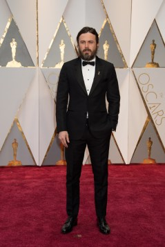 Oscar®-nominee Casey Affleck arrives at The 89th Oscars® at the Dolby® Theatre in Hollywood, CA on Sunday, February 26, 2017.