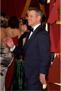 Matt Damon Jewels Oscars® red carpet