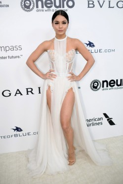 Vanessa Hudgens wore Le Vian Jewels Annual Elton John AIDS Foundation's Academy Awards Party