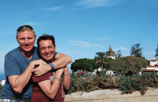 Patrik Simpson and Pol Atteu Saint Tenefire Spain