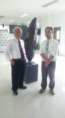 me and Prof. Narsen Afatara