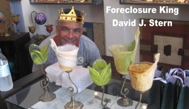 Foreclosure King David J Stern