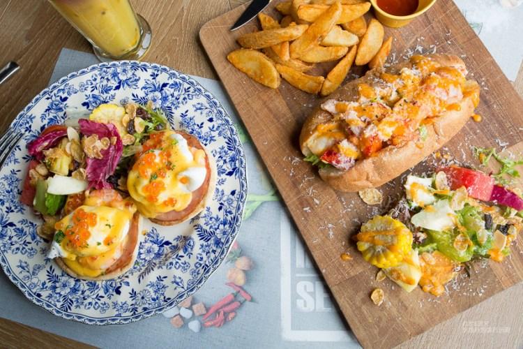 【台南美食】台南早午餐推薦,新光三越美食,高貴不貴的bistro88 義法餐酒館!