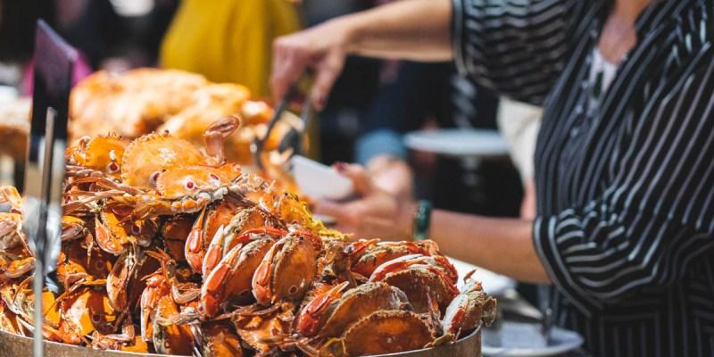 【台南吃到飽】漢來海港餐廳,獨家引進「Bassetts貝賽斯」美國歷史最悠久的冰淇淋品牌!自助百匯Buffet吃到飽~