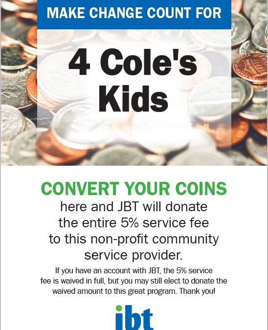JBT Bank will Convert Your Coins
