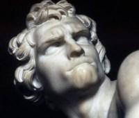 Bernini's David from Wiki Commons