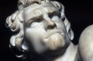 Bernini's David from Wiki Commons