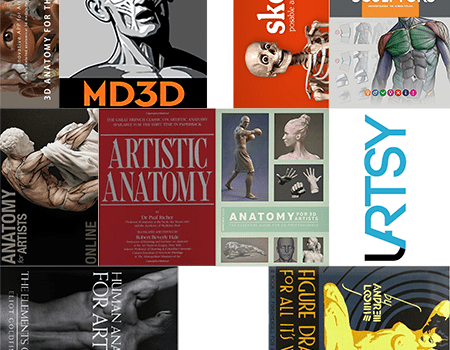 The A B Cs Of Artistic Anatomy 10 Great Resources For Learning